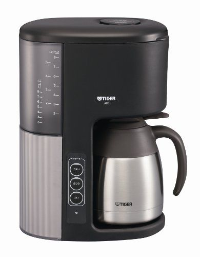 Special Offers - Tiger coffee maker cafe Black ACE-M080-KQ - In stock & Free Shipping. You can save more money! Check It (November 04 2016 at 06:55PM) >> http://coffeemachineusa.net/tiger-coffee-maker-cafe-black-ace-m080-kq/