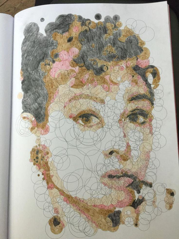 Color Art Coloring Books Luxury Querkle Querkles Colouring In In 2020 Colorful Art Art Coloring Books