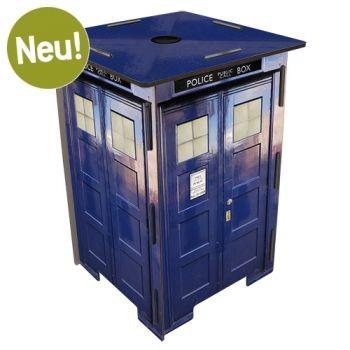 """Werkhaus Shop - Photohocker 279 - Police Call Box - Die """"Tardis"""" nun auch im Werhausshop. Doctor Who lässt Grüßen."""