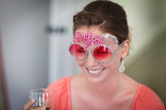 Pink Bride to Be Sunglasses
