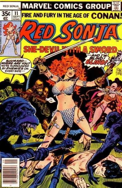 Red Sonja #11 - Red Lace Part 2: Sightless in a Strange Land! (Issue)