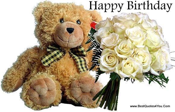 Happy Birthday Bear Wishes