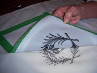 Great way to transfer images to fabric!