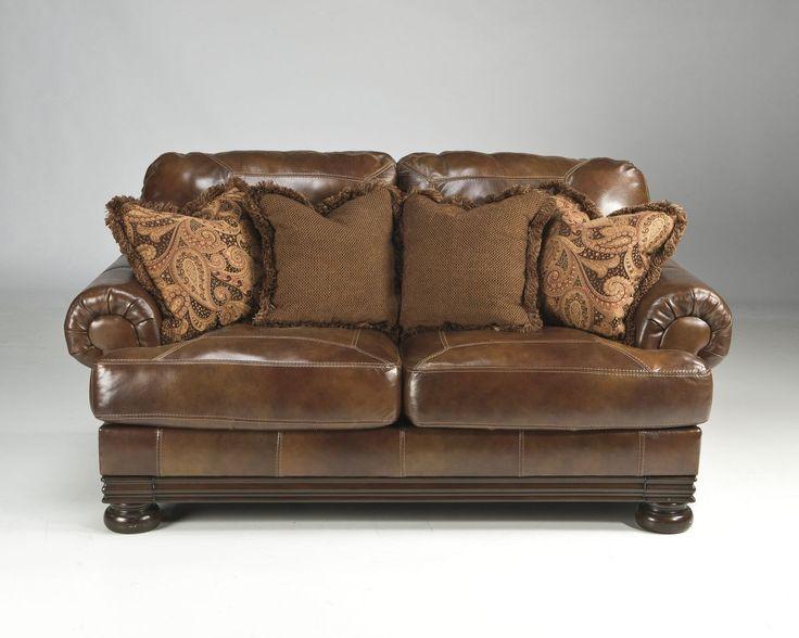 Hutcherson Harness Loveseat Love Seat Leather Loveseat