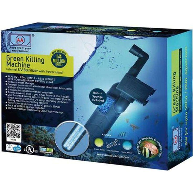 13w Uv Light Sterilization Lamp Submersible Ultraviolet Sterilizer Water Z1n1 Submersible Uv Light Fish Tank Cleaning