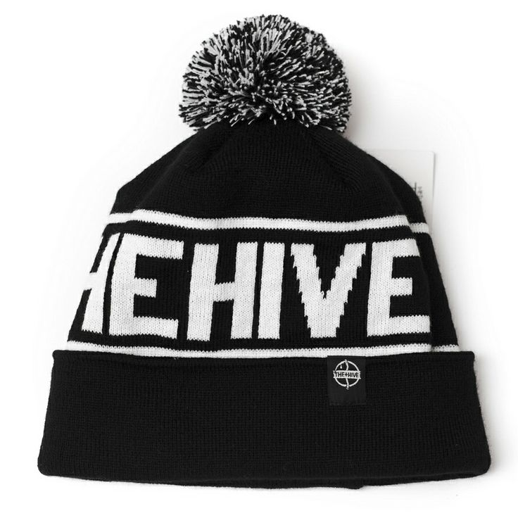 THE HIVE CLOTHING - CLASSIC POM POM BEANIE