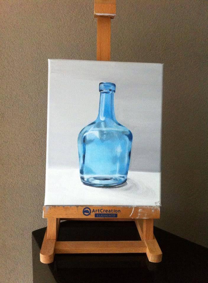 20/25 cm  acryl on canvas For Sale