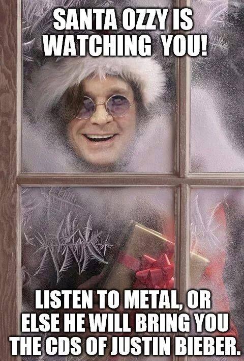 I'd rather see Santa Ozz than Santa Claus.