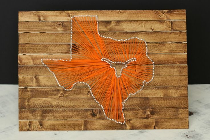 state string art tutorial... I love this version with the school logo but WV is a hard enough shaped state, forget about putting a mountaineer in there