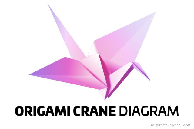 origami crane instructions printable
