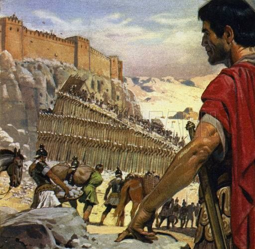 the importance of the masada and the jewish roman wars in roman history Start studying jewish history the three jewish-roman wars were revolts against the who describes the suicide of the sicarii at masada as a roman legion.