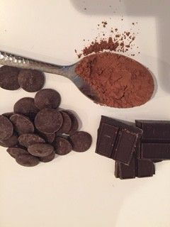 A chocolate facial mask that will be hard to not eat!!! I love it!