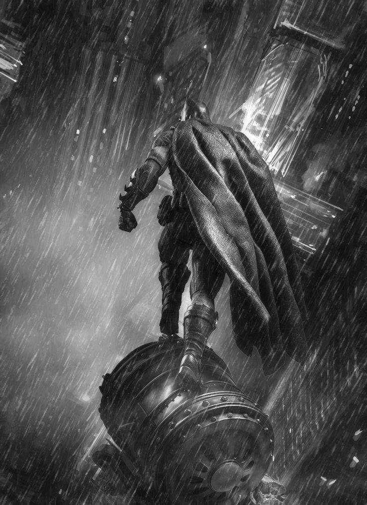 Go Batman by Graphix17 De espaldas