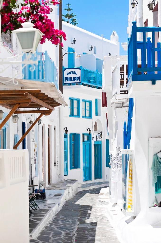 Isla de Mykonos. Tu viaje a #Grecia en www.vacazionaviajes.com