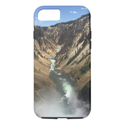 #Grand Canyon of Yellowstone Park iPhone 7 Case - #travel #trip #journey #tour #voyage #vacationtrip #vaction #traveling #travelling #gifts #giftideas #idea
