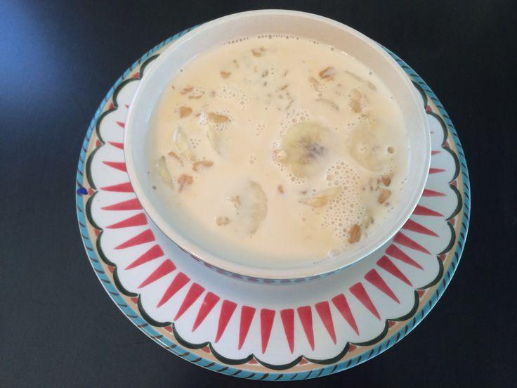 Avena Con Platano/ Oatmeal With Banana How To
