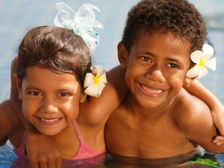 Beautiful smiling faces at Fiji Beach Resort & Spa, Fiji  www.islandescapes.com.au