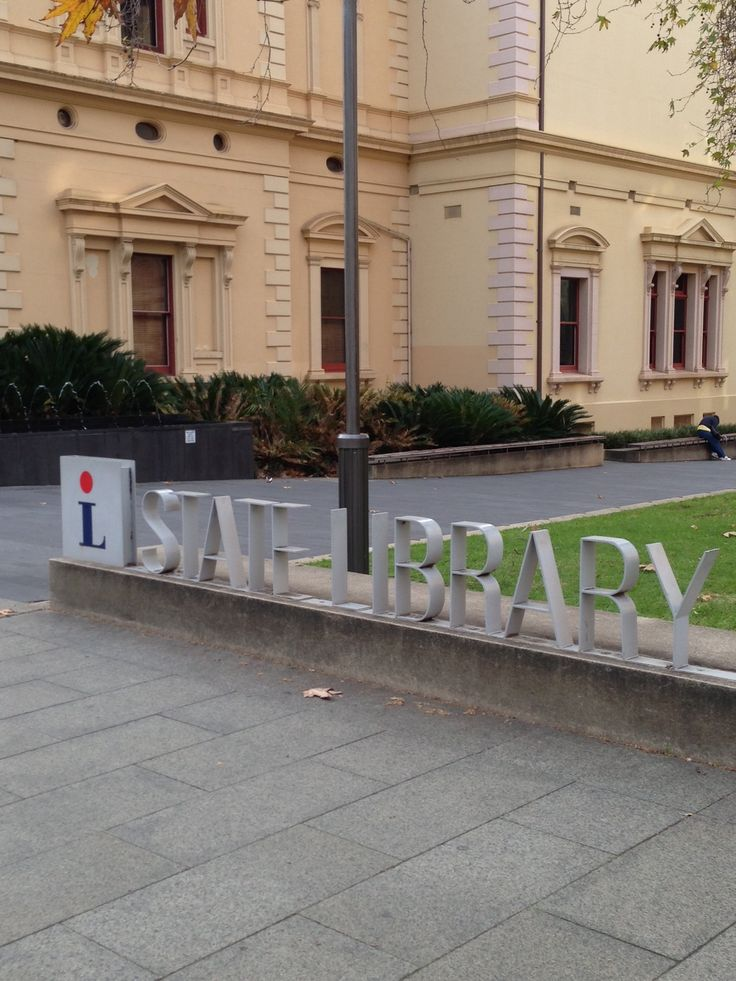 South Australia Library on North Terrace in Adelaide