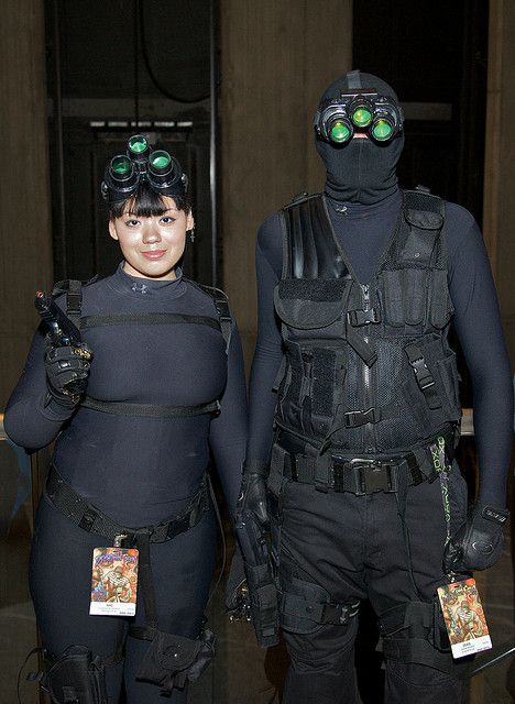 splinter cell costume splinter cell costumes from dragoncon 2009 flickr photo sharing - Splinter Cell Halloween Costume