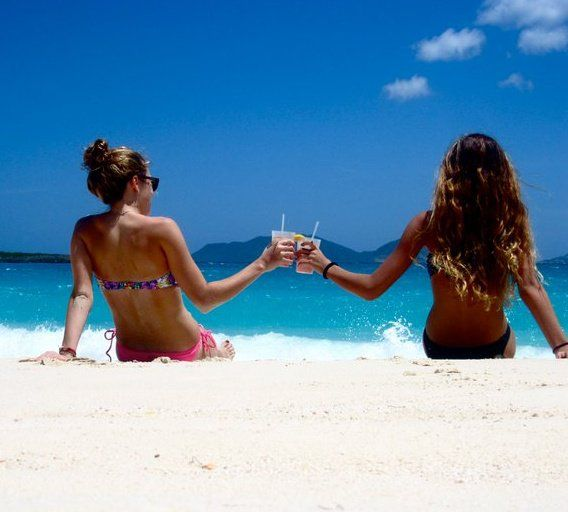 I cant wait to go to the beach this summer with the best friend(: