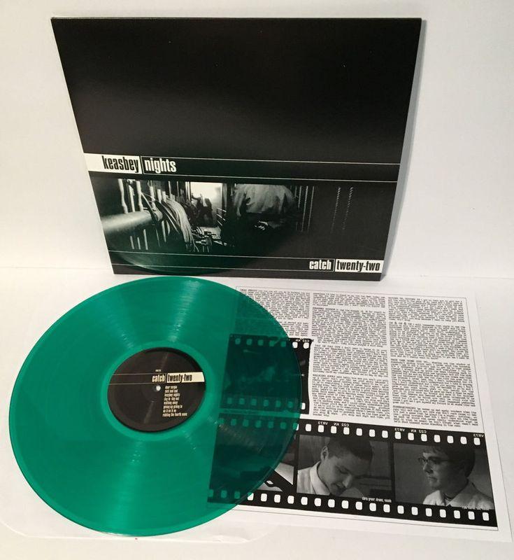CATCH 22 keasbey nights Lp GREEN VINYL Record with lyrics insert #punkPunkNewWave