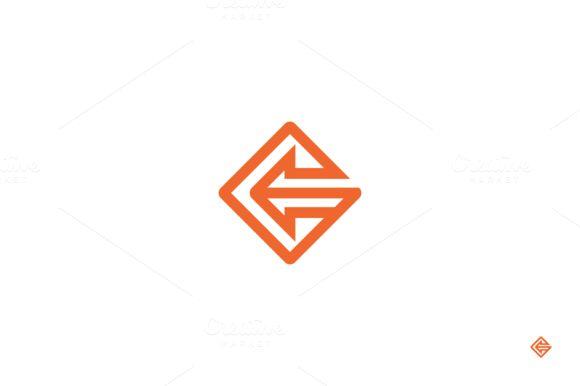 Arrow company logo. by anton.akhmatov on Creative Market