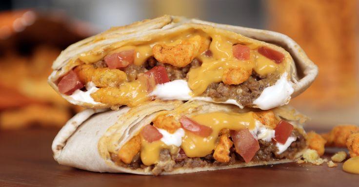 Taco Bell Cheetos Crunchwrap Sliders Recipe   Get the Dish
