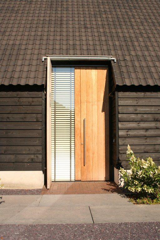 moderne houten voordeur - Google zoeken