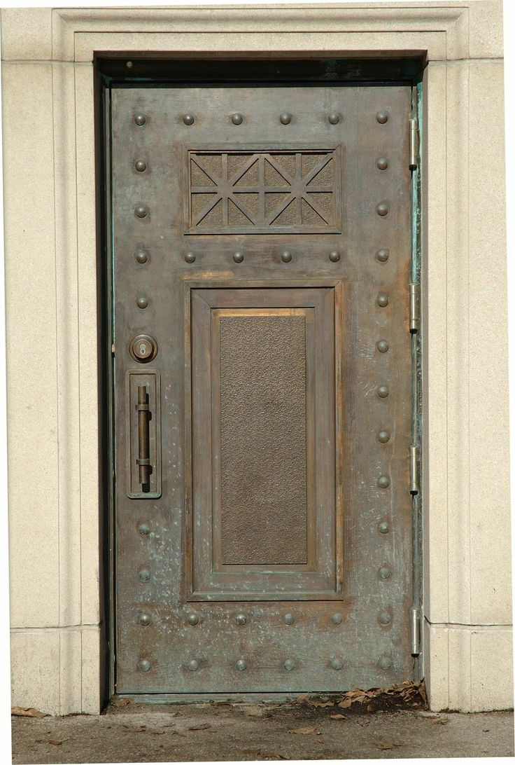 awesome old metal door.