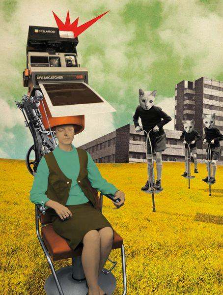 WAD - Julien Pacaud • Illustration • Perpendicular Dreams