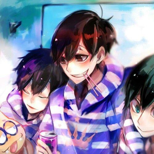 Ichimatsu, Osomatsu & Choromatsu