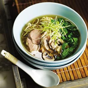 Five-spice roast pork with miso soup Recipe | delicious. Magazine free recipes