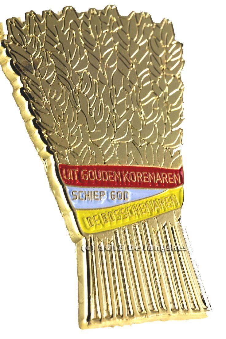 Bende gij ok zo trots om unne Bosschenaar te zijn? Dan mag deze pin niet ontbreken bij je outfit.