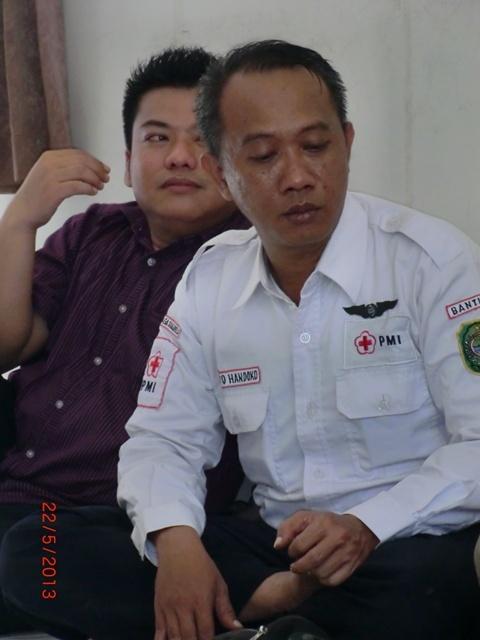 Dheni P and Seto Handoko