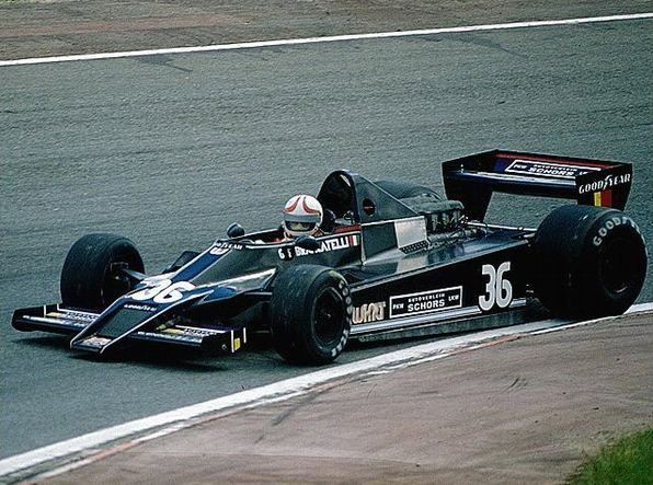 Gianfranco Brancatelli - Willi Kaushen Racing Team,Kauhsen WK Ford Cosworth DFV V8, trying to qualify to the GP de Espanha 1979, in Jarama