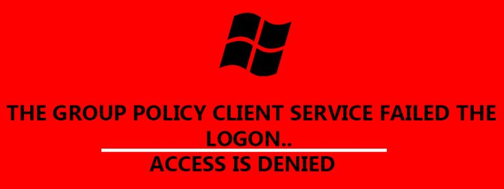 """Is your windows computer got stuck on the logonscreen showing """"The Group Policy Client Service failed the logon. Access is denied"""" and not allowing you to enter into windows here only the option is to...[ReadMore..]"""