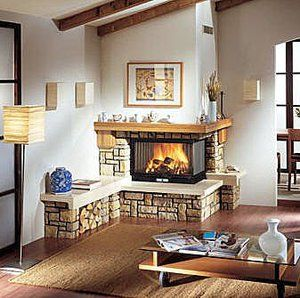 M s de 1000 ideas sobre chimeneas de esquina en pinterest - Chimeneas en esquina ...