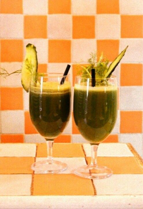 Freshly squeezed #fruit&veggie #Juice.