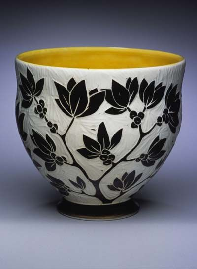 Karen Newgard pottery at MudFire Gallery