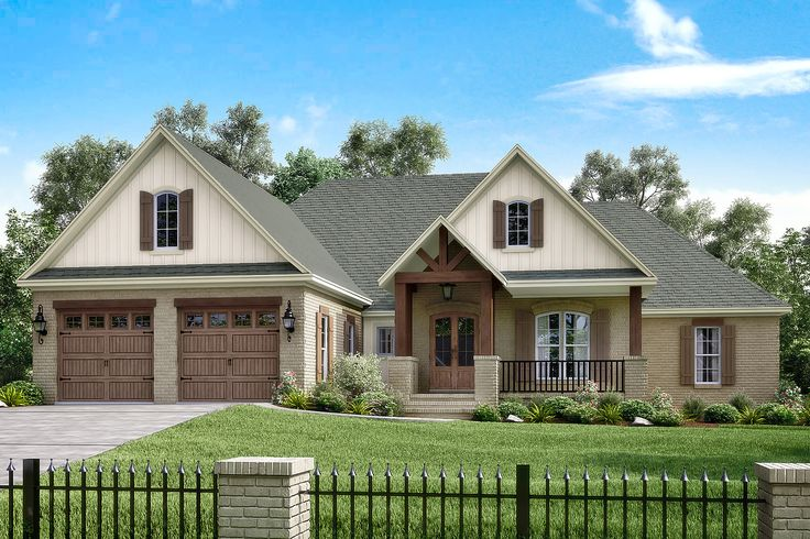 Clairmont House Plan: love this house! Don't really need a master bathroom or closet that big though so maybe put another closet in the bathroom and use the master closet as a storage closet or a craft room. Magg