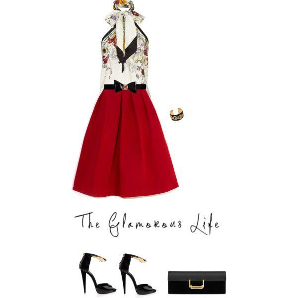Skirt by TIBI by fashionmonkey1 on Polyvore