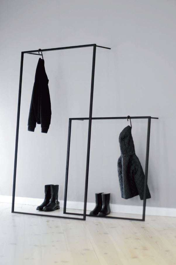 Little Leano Garderobe Schwarz In 2020 Small Wardrobe Wardrobe Clothing Rack
