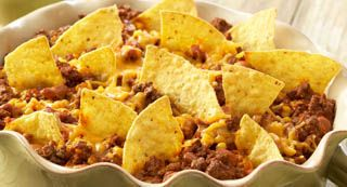 Taco Casserole: A quick and easy one-dish version of