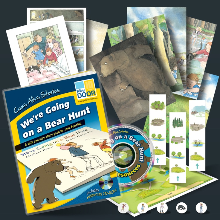 NEW - lots of great resources around one of our favourite picture books, We're Going on a Bear Hunt. Written by Michael Rosen and illustrated by Helen Oxenbury, this wonderful story is full of rich language that is guaranteed to capture the imagination.