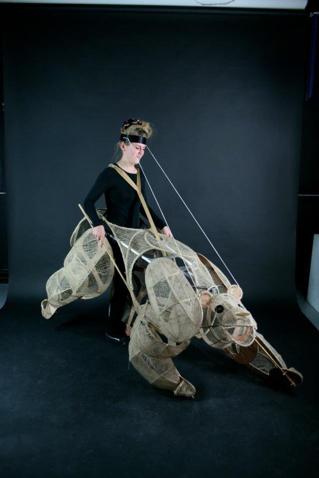 Bear Puppet - www.ChloeHenderson.com