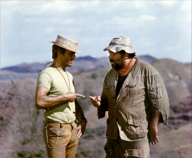 Bud Spencer and Terence Hill is still my favorite couple ever