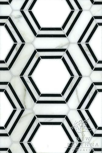 Black And White Hex Marble Tilesblack Flooring Pattern  Ikea Floor Lamp