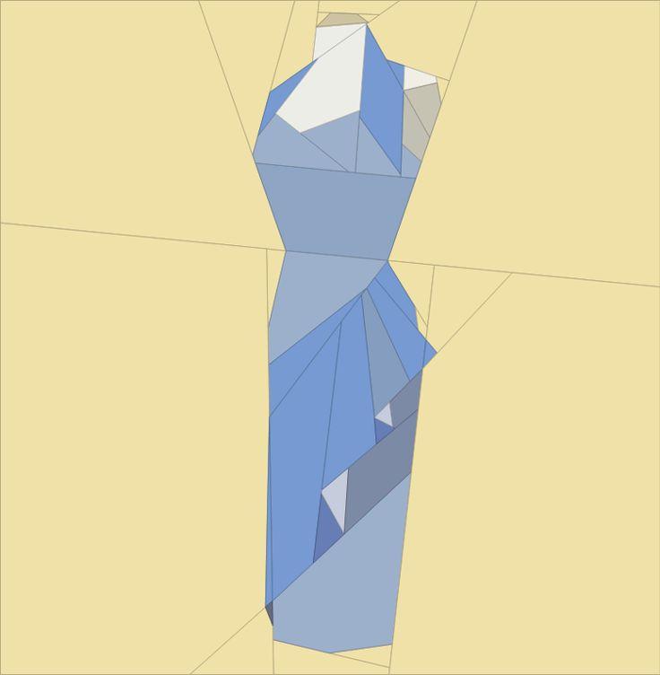 50's Dress 4 quiltartdesigns.blogspot.com