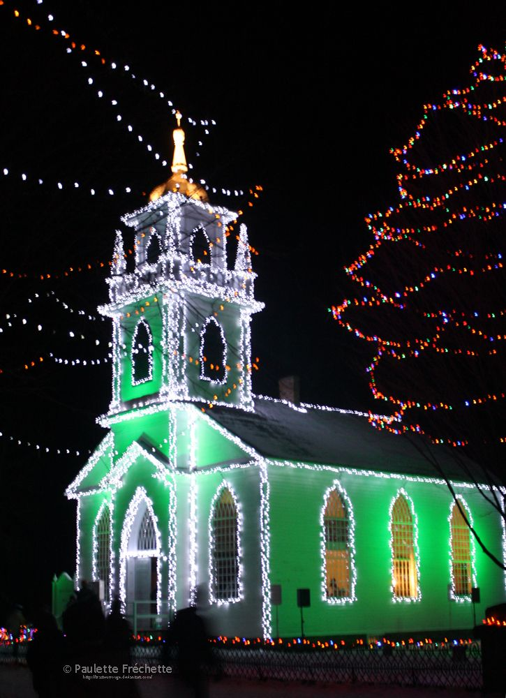 Christmas in Upper Canada Village, Morrisburg, Ontario - that is a great place to visit - been there a couple of times.