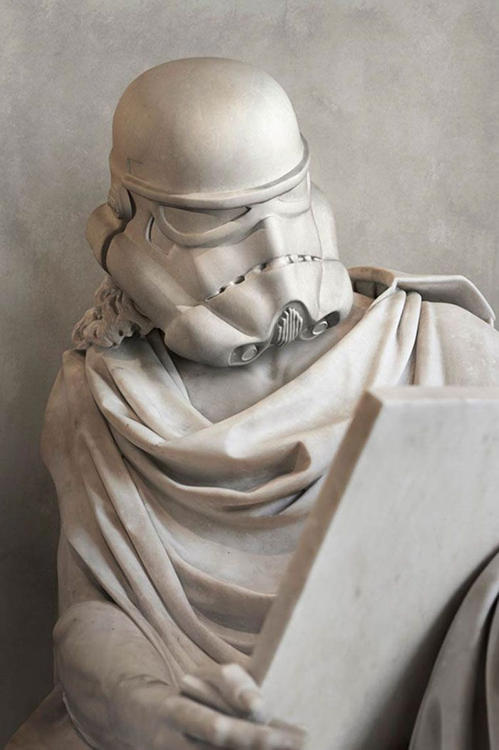 Star Wars Characters Reimagined As Ancient Greek Statues | Bored Panda